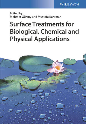 Surface Treatments for Biological, Chemical and Physical Applications (3527340831) cover image