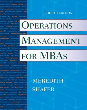 Operations Management for MBAs, 4th Edition (EHEP000331) cover image