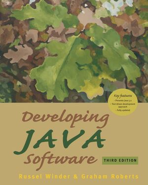 Developing Java Software, 3rd Edition (EHEP000931) cover image