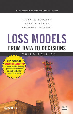 Loss Models: From Data to Decisions, 3rd Edition (0470391332) cover image