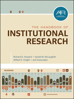 The Handbook of Institutional Research (0470609532) cover image
