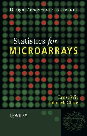 Statistics for Microarrays: Design, Analysis and Inference (0470849932) cover image