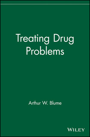 Treating Drug Problems (0471716332) cover image
