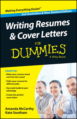 Wiley: Writing Resumes and Cover Letters For Dummies - Australia ...