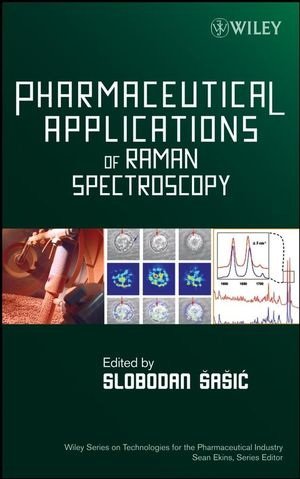 Pharmaceutical Applications of Raman Spectroscopy (0813810132) cover image