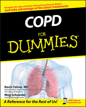 COPD For Dummies (1118068432) cover image