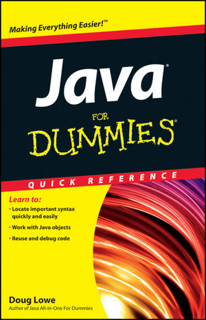 Java For Dummies Quick <span class='search-highlight'>Reference</span>