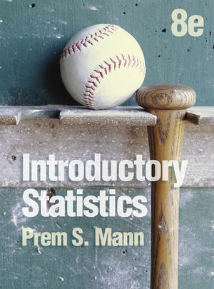 Introductory Statistics 8e + WileyPLUS Registration Card