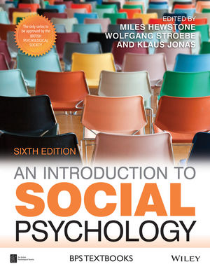 An Introduction to Social Psychology, 6th Edition (1118823532) cover image