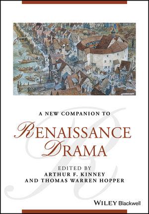 A New Companion to Renaissance Drama (1118824032) cover image