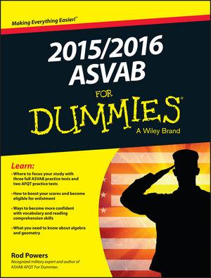 2015 / 2016 ASVAB For Dummies