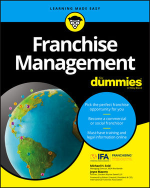 Franchise Management For Dummies (1119337232) cover image