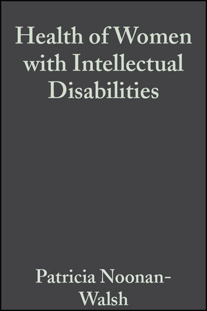 Health of Women with Intellectual Disabilities (1405101032) cover image