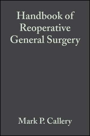 Handbook of Reoperative General Surgery (1405104732) cover image