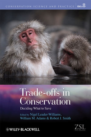 Trade-offs in Conservation: Deciding What to Save (1405193832) cover image