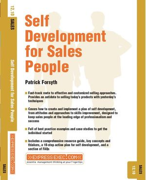 Self Development for Sales People: Sales 12.10