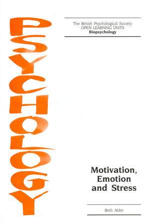Motivation, Emotion and Stress (1854332732) cover image