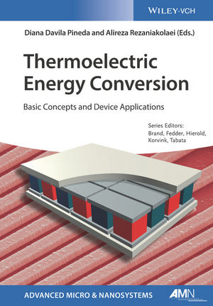 Thermoelectric Energy Conversion: Basic Concepts and Device Applications (3527698132) cover image