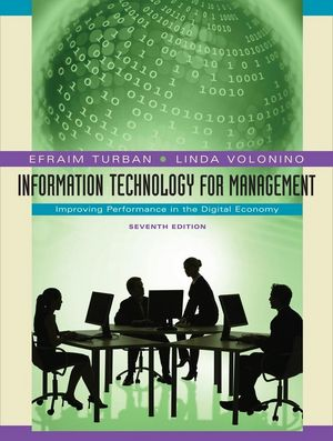 Information Technology for Management: Improving Performance in the Digital Economy, 7th Edition (EHEP000232) cover image