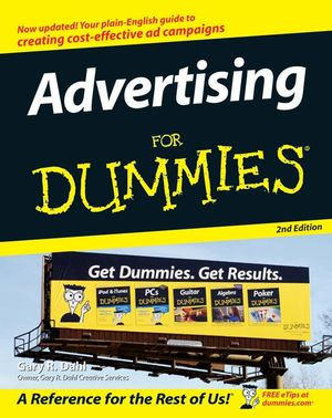 Advertising For Dummies, 2nd Edition (0470045833) cover image