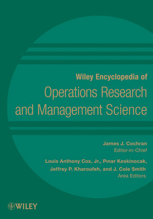 Wiley Encyclopedia of Operations Research and Management Science, 8 Volume Set (0470400633) cover image