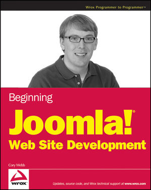 Beginning Joomla! Web Site Development (0470438533) cover image