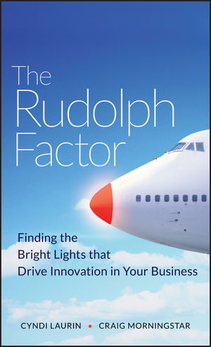 The Rudolph Factor: Finding the Bright Lights that Drive Innovation in Your Business (0470451033) cover image