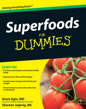 Superfoods For Dummies (0470523433) cover image
