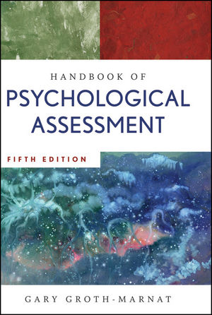Handbook of Psychological Assessment, 5th Edition (0470592133) cover image