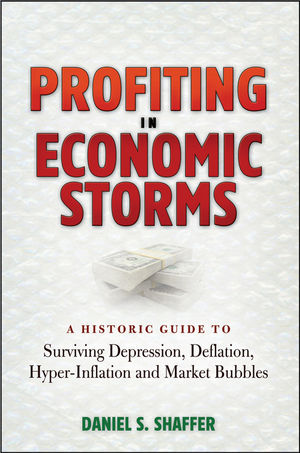 Profiting in Economic Storms: A Historic Guide To Surviving Depression, Deflation, HyperInflation, and Market Bubbles (0470596333) cover image