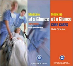 Medicine at a Glance 3rd Edition Text and Cases Bundle (0470670533) cover image