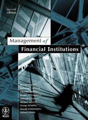 Management of Financial Institutions, 2nd Edition