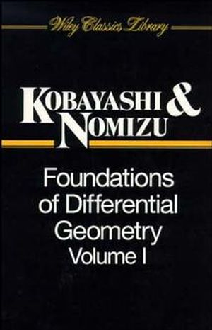 Foundations of Differential Geometry, Volume 1 (0471157333) cover image