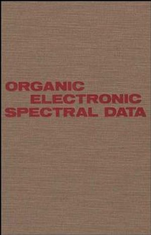 Organic Electronic Spectral Data, Volume 27, 1985