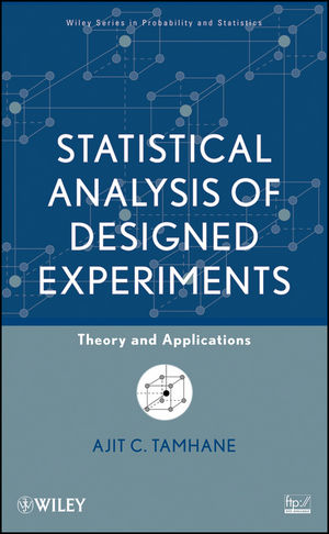 Statistical Analysis of Designed Experiments: Theory and Applications (0471750433) cover image