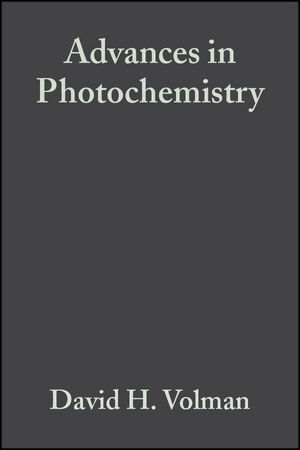 Advances in Photochemistry, Volume 13 (0471815233) cover image