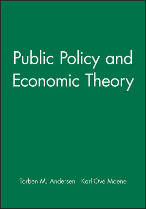 Public Policy and Economic Theory