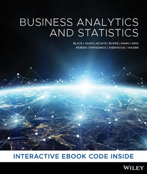 Business Analytics and Statistics, 1st Edition