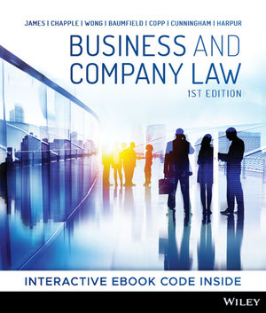 Business and Company Law, 1st Edition