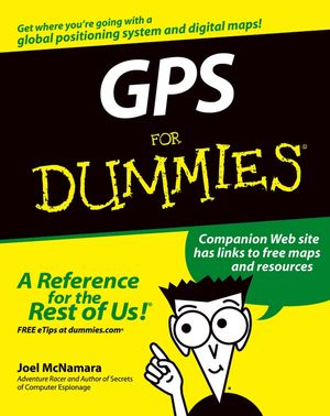 GPS For Dummies (0764569333) cover image