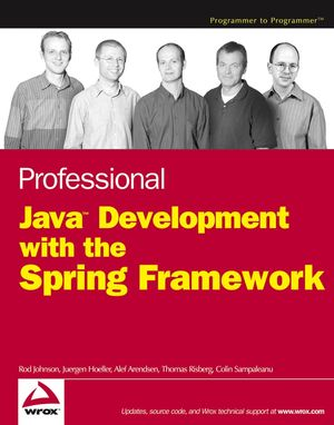 Professional Java Development with the Spring Framework (0764574833) cover image