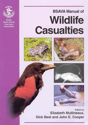 BSAVA Manual of Wildlife Casualties (0905214633) cover image