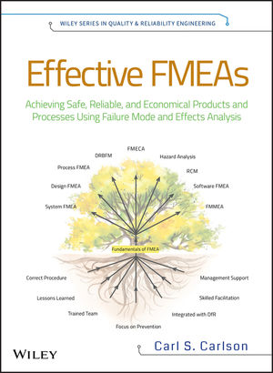 Effective FMEAs: Achieving Safe, Reliable, and Economical Products and Processes using Failure Mode and Effects Analysis (1118007433) cover image