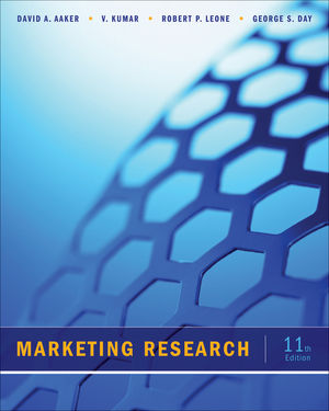 Marketing Research, 11th Edition (1118156633) cover image