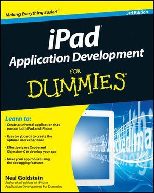 iPad Application Development For Dummies, 3rd Edition (1118231333) cover image