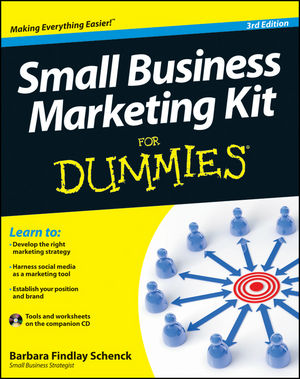 Small Business Marketing Kit For Dummies, 3rd Edition (1118311833) cover image