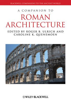 A Companion to Roman Architecture (1118325133) cover image
