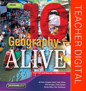 Geography Alive 10 For The Australian Curriculum eGuidePLUS (Online Purchase)