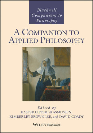 A Companion to Applied Philosophy (1118869133) cover image