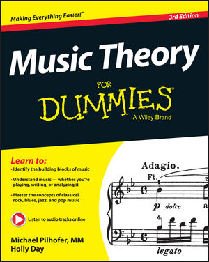 Music Theory For Dummies, 3rd Edition